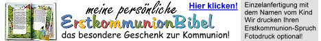 Erstkommunion Kinderbibel